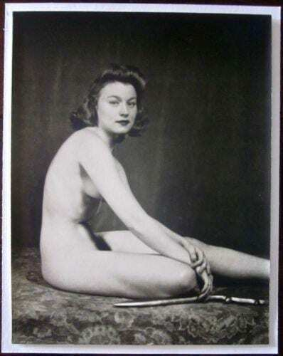 "Lud Getter Nude - Alfred C. Johnston (1937) 10.25"" x 13"" Photograph"