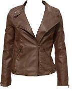 Ladies Leather Jacket Size 18