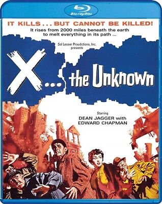 X THE UNKNOWN New Sealed Blu-ray 1956 Hammer Films