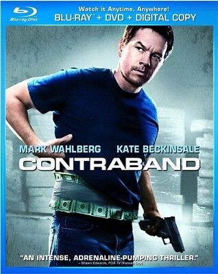 Contraband New Sealed Blu Ray   Dvd Mark Wahlberg Kate Beckinsale