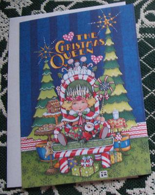 Mary Engelbreit Card The Christmas Queen Tree Santa Gingerbread etc New Unused
