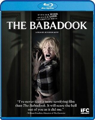 The Babadook New Sealed Blu Ray