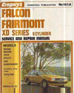 FORD FALCON XD 6 CYL WORKSHOP SERVICE REPAIR  MANUAL 1979-80 Sefton Bankstown Area Preview
