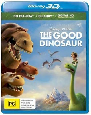 Disney Pixar The Good Dinosaur 3D & 2D Bluray Region Free ABC New