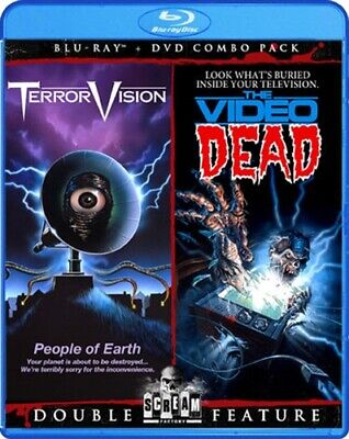 TERRORVISION + THE VIDEO DEAD New Sealed Blu-ray + DVD Doubl