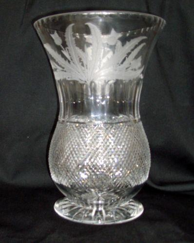 Edinburgh Crystal Thistle Ebay