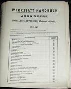 Werkstatthandbuch John Deere