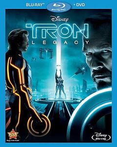 BLU-RAY! TRON LEGACY WITH SLIPCOVER