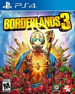 Borderlands 3 Playstation 4 PS4 Brand New Sealed