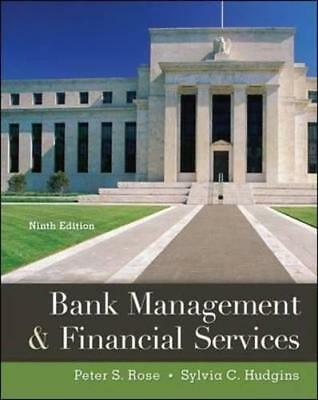 Bank Management   Financial Services 9E Global Edition