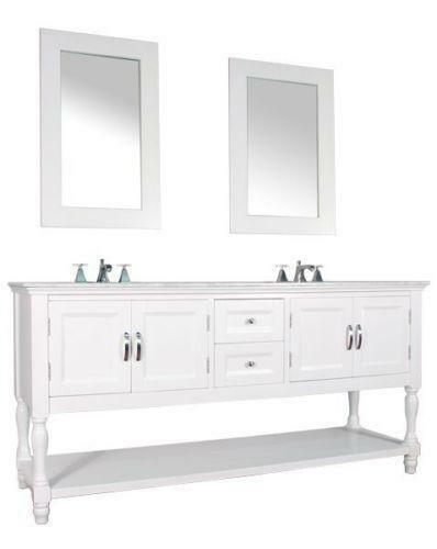 Bath Double Sink Bathroom Vanities Ebay