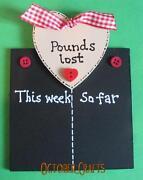 Weight Loss Chalk Board