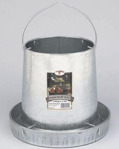 Galvanized Chicken Feeder Ebay