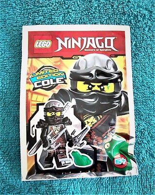 LEGO NINJAGO: Cole Polybag Set 891727 BNSIP