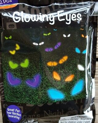 Halloween Lights Outdoor Garden Bushes peering eyes Easy ASsembly check this out - Halloween Assembly