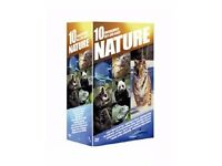 5 DVD's on Nature. Region 2