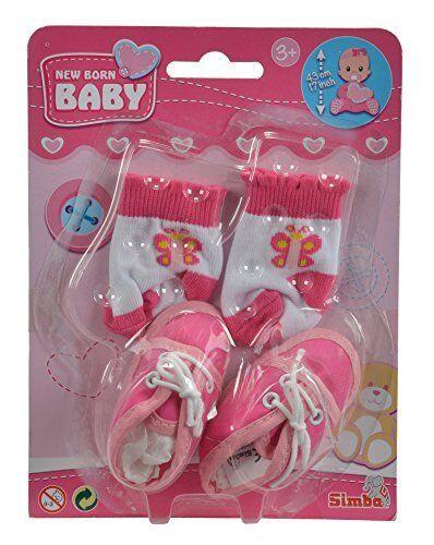 Simba Spiele Baby Kleinkinder New Born Baby Schuhe und Socken 4-sort NEU Beste