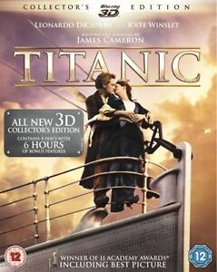 Titanic 3D : Collector's Edition (Blu Ray 3D + Blu-ray)