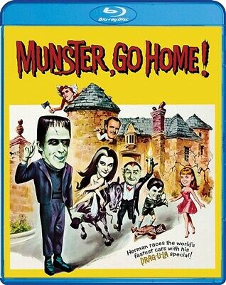 PREORDER MAR 31 MUNSTER GO HOME New Blu-ray + Munsters Revenge 1981 TV Movie