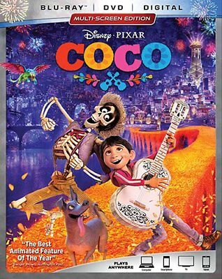 Coco Blu Ray   Only Disc Read Details