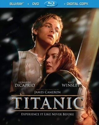 Titanic [New Blu-ray] With DVD, UV/HD Digital Copy, Boxed Set, Digital Copy, D