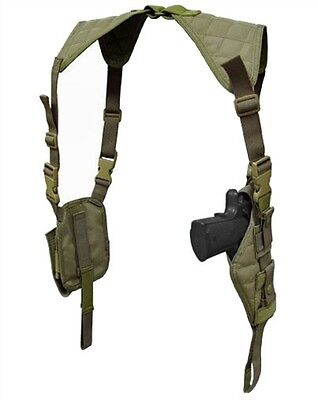 Condor Tactical Vertical Shoulder Holster & Double Mag - O.D. Green #ASH