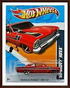 2012 Hot Wheels 66 Chevy Nova