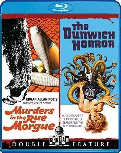Murders In The Rue Morgue & The Dunwich Horror (2016, Blu-ray NEW)