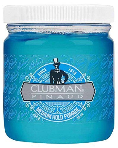 Clubman Pomade Large, Medium Hold, 16 Ounce