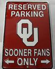 Oklahoma Sooners NCAA Signs