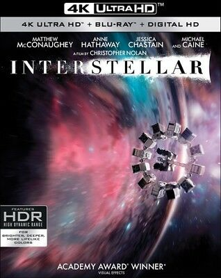 Купить Interstellar [New 4K UHD Blu-ray] With Blu-Ray, 4K Mastering, Ac-3/Dolby Digit
