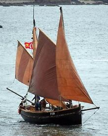 1930s Cornish Lugger for sale