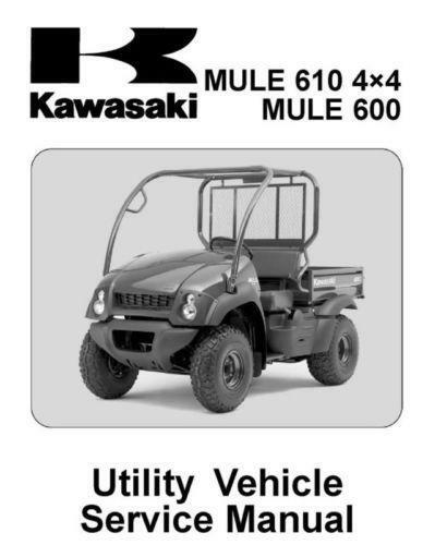 2007 Kawasaki Mule 600 Wiring Diagram - Data Wiring Diagrams •