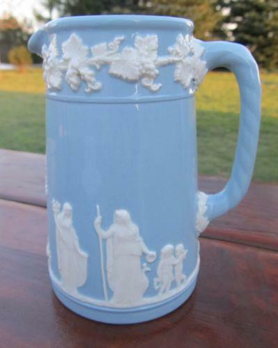 Wedgwood White Pitcher Ebay