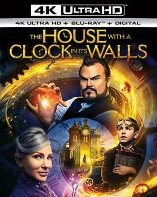 The House with a Clock in Its Walls w/Slipcover (4K Ultra HD, Blu-ray, Digital)](Spooky In Spanish)