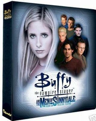 Inkworks Buffy the Vampire Slayer & the Men of Sunnydale 3-Ring Binder Album