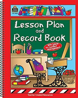 NEW - Lesson Plan and Record Book by Teacher Created Resources Staff - Teacher Resources