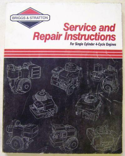 briggs and stratton 5hp engine manual