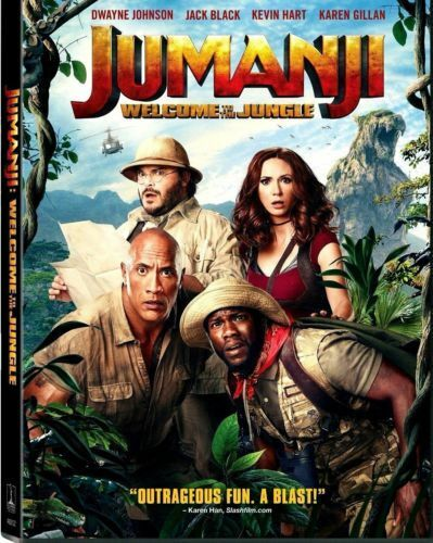 Купить Jumanji: Welcome to the Jungle:NEW [DVD, 2018] - PRE-ORDER SHIPS ON!!! 03-20-18