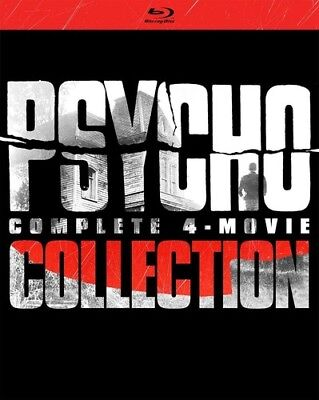 Psycho 4-movie Complete Collection [New Blu-ray] Boxed Set - Film Over Halloween