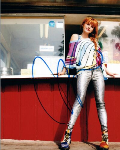 Bella Thorne Signed Autograph 8x10 Photo Shake It Up Famous in Love Hot Sexy VD