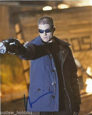 Wentworth Miller The Flash Autographed Signed 8X10 Photo Coa  6