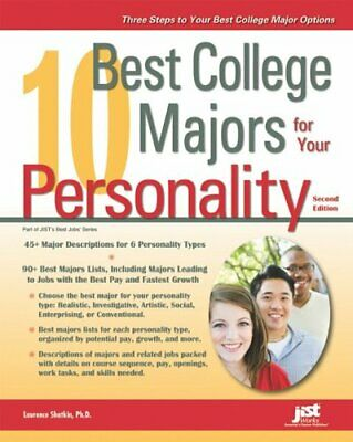 10 Best College Majors for Your Personality by Shatkin,