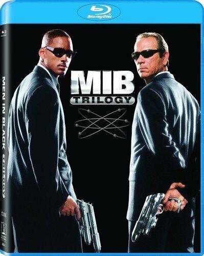 New Men In Black 3 Film Set: Men in Black 1 - 3 (Blu-ray)