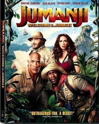 Jumanji  Welcome To The Jungle  Dvd 2018  New  Best Deal Dont Miss Fast Ship