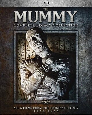 The Mummy: Complete Legacy Collection [New Blu-ray] Boxed Set, Snap Case - Finnish Halloween