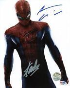 Andrew Garfield Signed