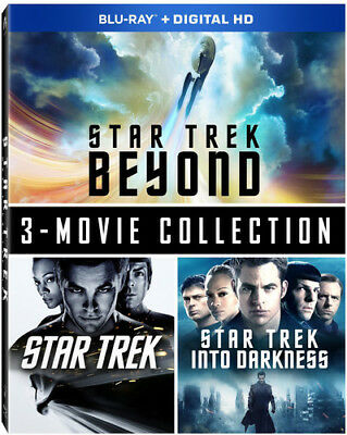 Star Trek Beyond: 3-Movie Collection [New Blu-ray] Gift Set, Subtitled, - Beyond Collection