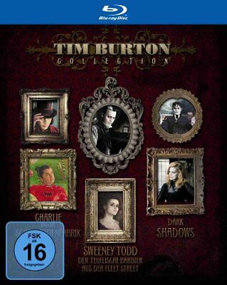 Tim Burton Kinder (Tim Burton Collection Blu-ray (Dark Shadows, Sweeny Todd, Schokoladenfabrik))