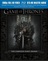 Game Of Thrones - The Complete First Season 1 (blu-ray)
